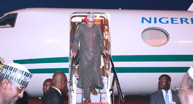 BREAKING: President Buhari Returns After London Vacation