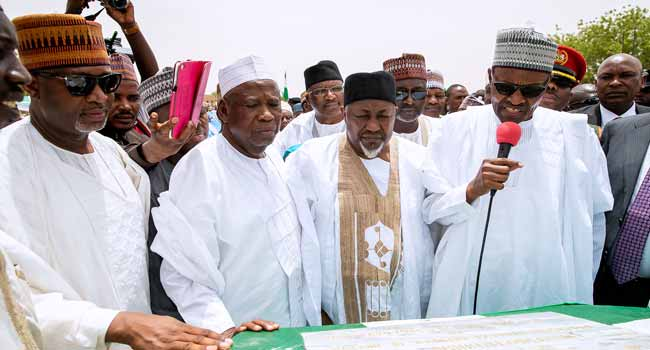 Buhari Says FG'll Sustain 'Agricultural Revolution' With Right Policies