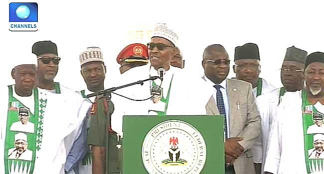 Buhari Launches Jigawa State Social Intervention Programme