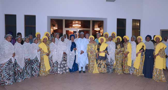 President Buhari Receives Wives Of State Governors