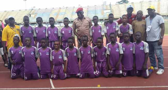 Sports Minister's Visit To Channels Kids Cup In Pictures