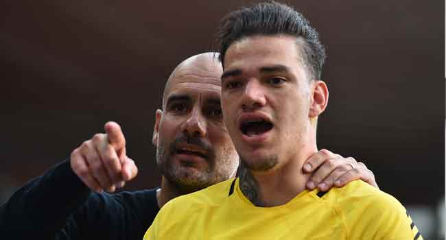 Ederson Signs New Seven-Year Man City Deal