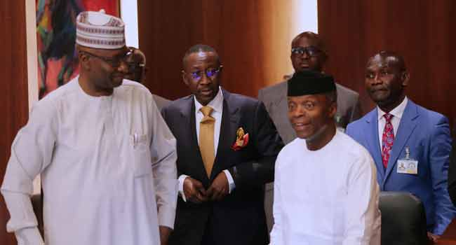 SGF, NSA Present As Osinbajo Chairs FEC Meeting
