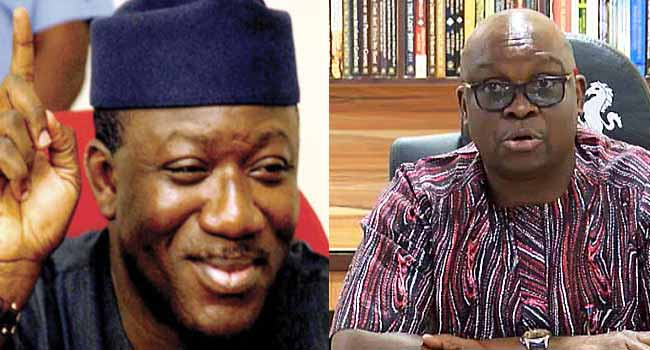 Fayemi, Fayose Embrace After Years Of Disagreements