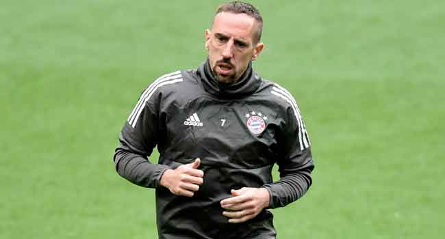 Ribery Apologises For Reportedly Slapping TV Pundit