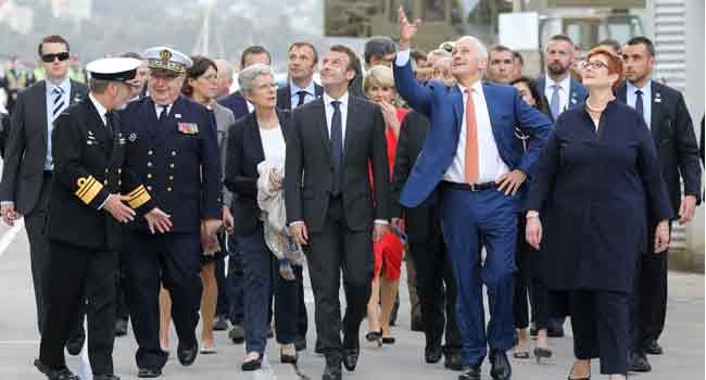 Macron Reiterates Need To Keep Iran Nuclear Deal