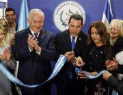Guatemala Opens Israel Embassy In Jerusalem After U.S.