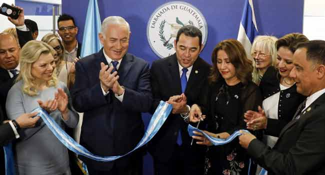 Guatemala Opens Israel Embassy In Jerusalem After U.S.