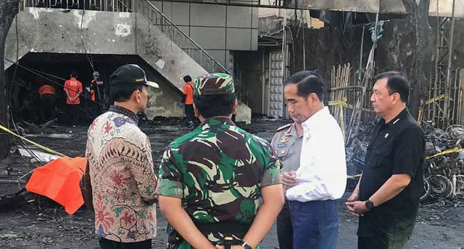 Deadly Indonesia Church Suicide Bombings Committed By One Family