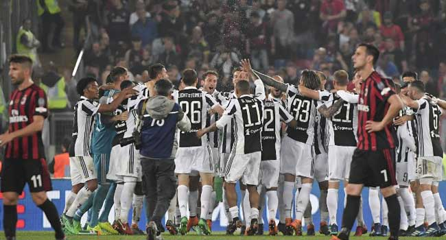 Juventus Crush AC Milan 4-0 To Win Fourth Consecutive Italian Cup Title
