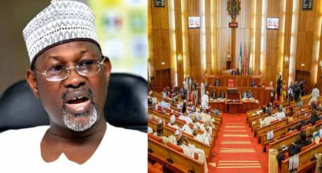 Jega's Comments 'Far From The Truth', Senate Reacts To Bribery Allegations