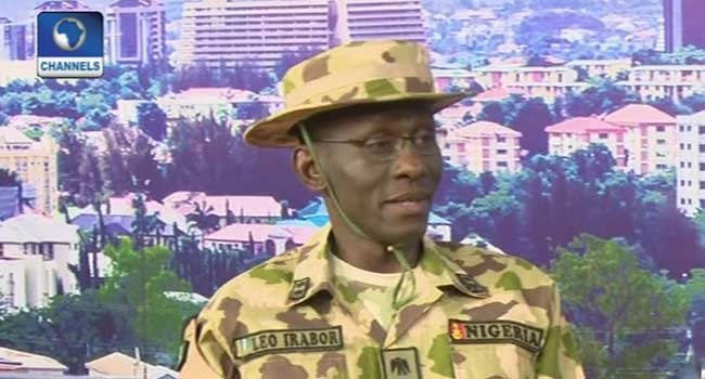 Arms For Volunteers: Irabor Not Sure Army Arms CJTF