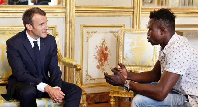 Macron Praises Migrant 'Spiderman' Who Saved Child