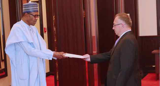 President Buhari Receives Letters Of Credence From Mali, Serbia Ambassadors