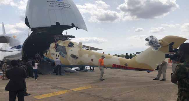 Nigerian Air Force Takes Delivery Of Additional Gunships From Russia