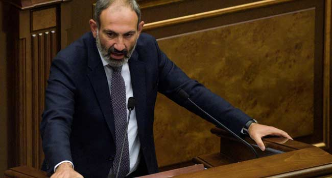 Armenia Opposition Leader Pashinyan Elected PM By Parliament
