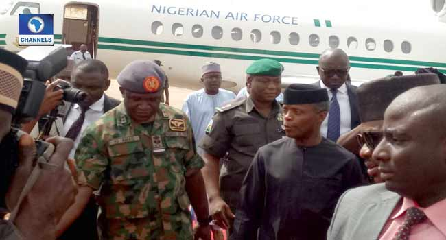 Osinbajo In Benue On Two-Day Working Visit