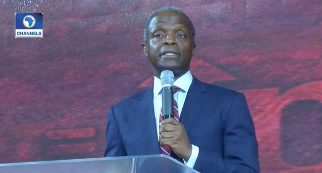 If We Obey God, Our Nation Will Change – Osinbajo