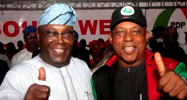 Secondus, Atiku, Others Storm Osun For PDP Rally