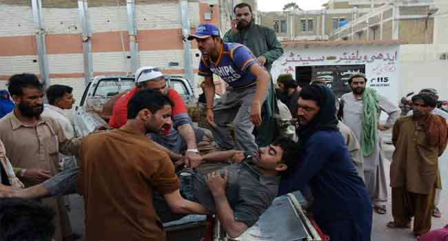 16 Miners Killed In Pakistan Gas Explosion