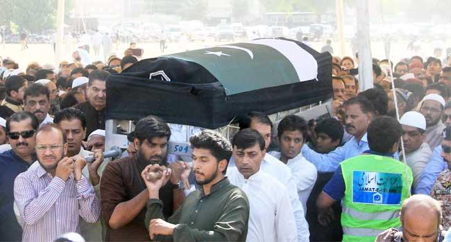 Pakistan Buries Teen Killed In Texas School Shooting