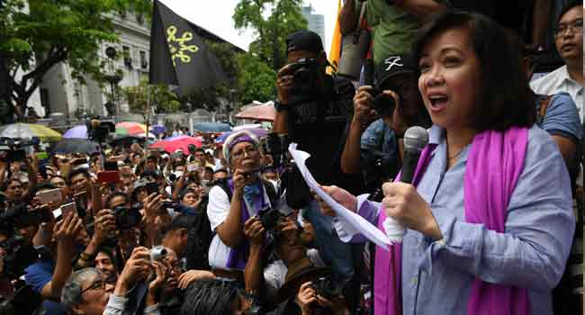 Sacked Philippine Chief Justice To Appeal Decision