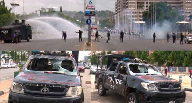 Police, Shiites Clash At Federal Secretariat In Abuja