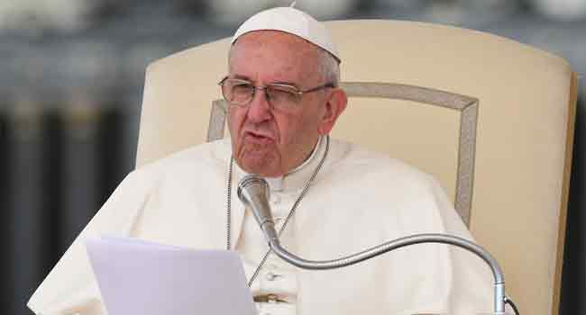 Pope Urges Oil Majors To Combat Global Warming