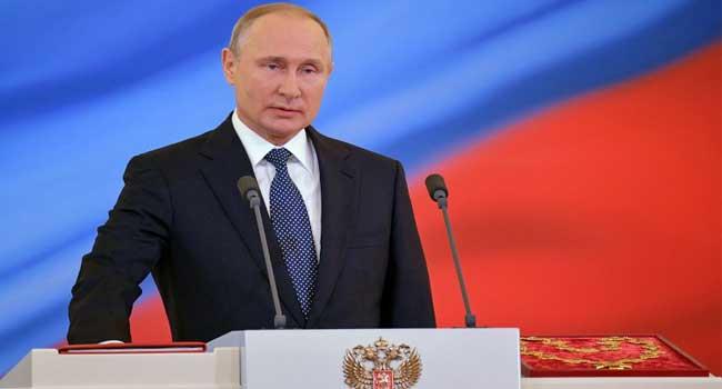 Vladimir Putin Sworn In As President For Fourth Term
