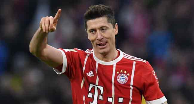 Lewandowski Extends Bayern Munich Contract Until 2023
