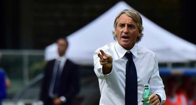 Mancini Takes Charge Of First Competitive Match As Italy Coach