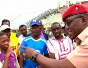 Dalung Visits Players, Seeks Sports Development At Grassroots