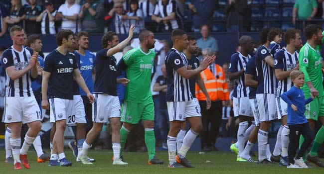 West Brom Relegated From Premier League