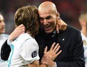 Zidane Becomes First Coach To Win Three Straight Champions League Titles