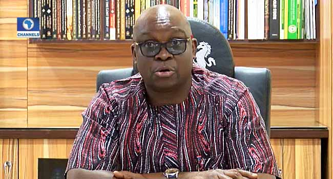 'Nigerians Will Defeat This Tyranny Ultimately', Fayose Reacts As INEC Postpones Elections