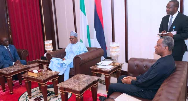 Buhari Receives Letters Of Credence From Guinea-Bissau, Thailand