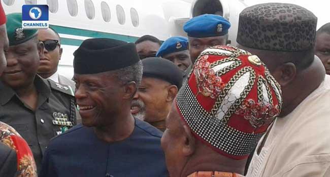 Osinbajo Visits Enugu, Launches N-Power Build