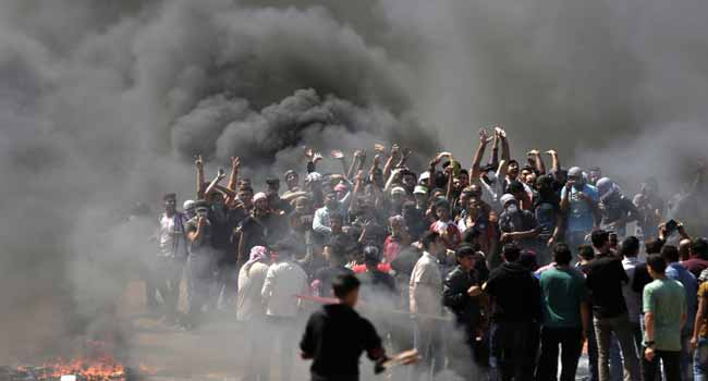 Palestinians Bury 12-Year-Old Killed In Israel Border Clashes