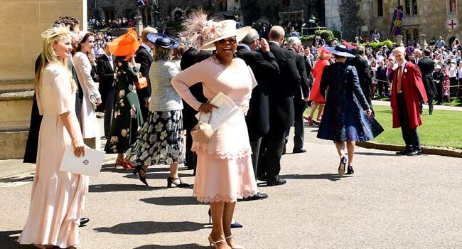 Oprah, Beckham, Serena Attend Royal Wedding