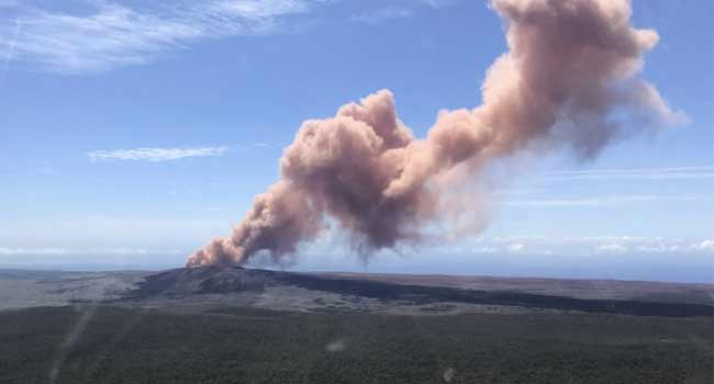 Thousands Urged To Leave Homes After Hawaii Volcano Eruption