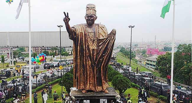 June 12: Lagos Govt. Unveils Statue Of MKO Abiola