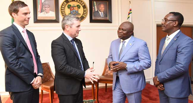 Governor Ambode Hosts Australian High Commissioner