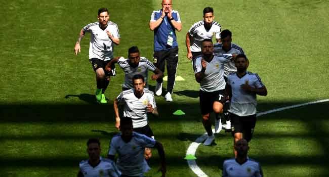 Argentina v Iceland World Cup Starting Line-Ups
