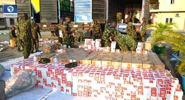 Army Intercepts Trucks Loaded With Live Cartridges In Ogun