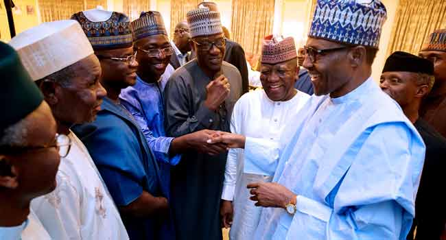 PHOTOS: President Buhari Hosts APC Governors