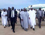 PHOTOS: Buhari Pays Condolence Visit To Bauchi State