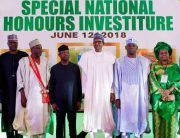 Special National Honours Investiture In Pictures