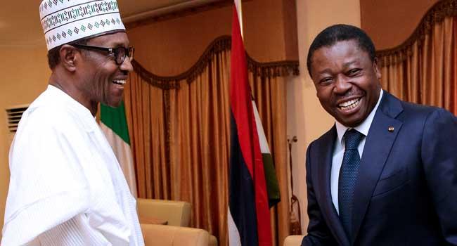 Buhari Receives Togo President, Faure Gnassingbe In Katsina