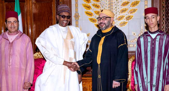 Moroccan King Applauds President Buhari's Anti-Corruption Fight