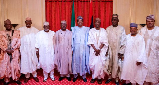 President Buhari Celebrates Eid-El-Fitri With Ministers, Service Chiefs